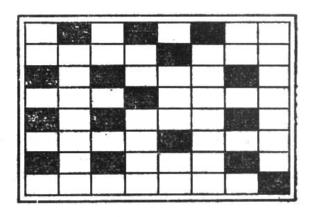 рис. 46. решетка в форме почтовой карточки