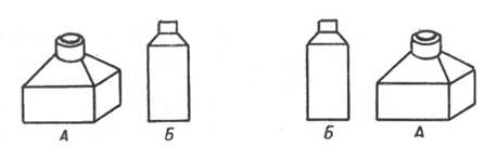 рис. 55. две вещи можно разместить только двумя способами