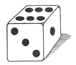 рис. 59. игральная кость