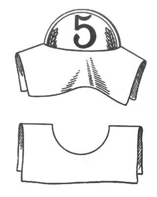 рис. 88. бумажку изгибают так, что круглое отверстие вытягивается в прямую щель